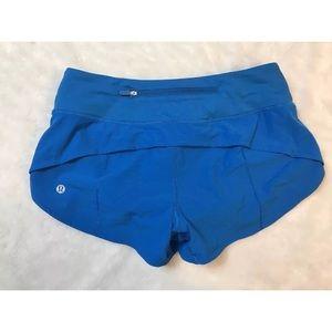 Lululemon run times shorts 4 royal blue